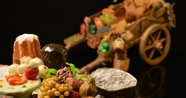 La belleza de los pequeños detalles: Comida en miniatura para tu pesebre