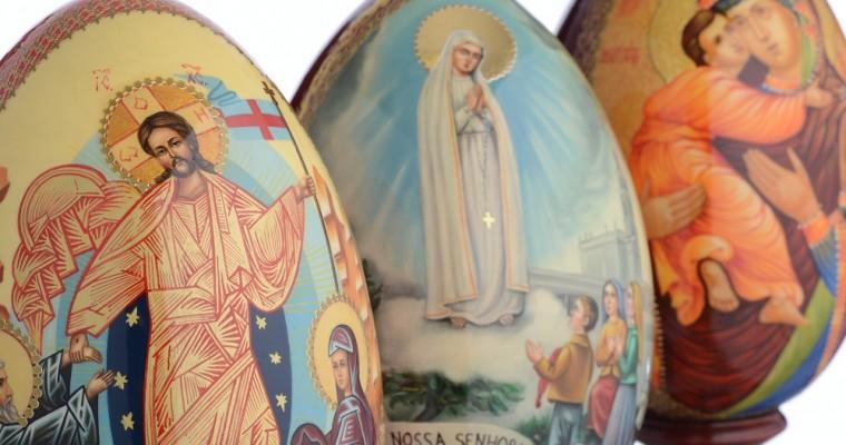 Los huevos rusos pintados: un símbolo de la Resurrección de Cristo