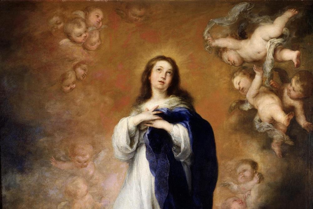 La Virgen inmaculada como símbolo de la Redención