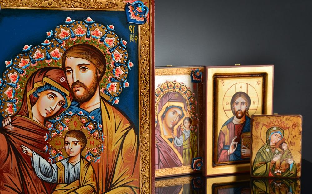 La gran tradición de los iconos sagrados rumanos
