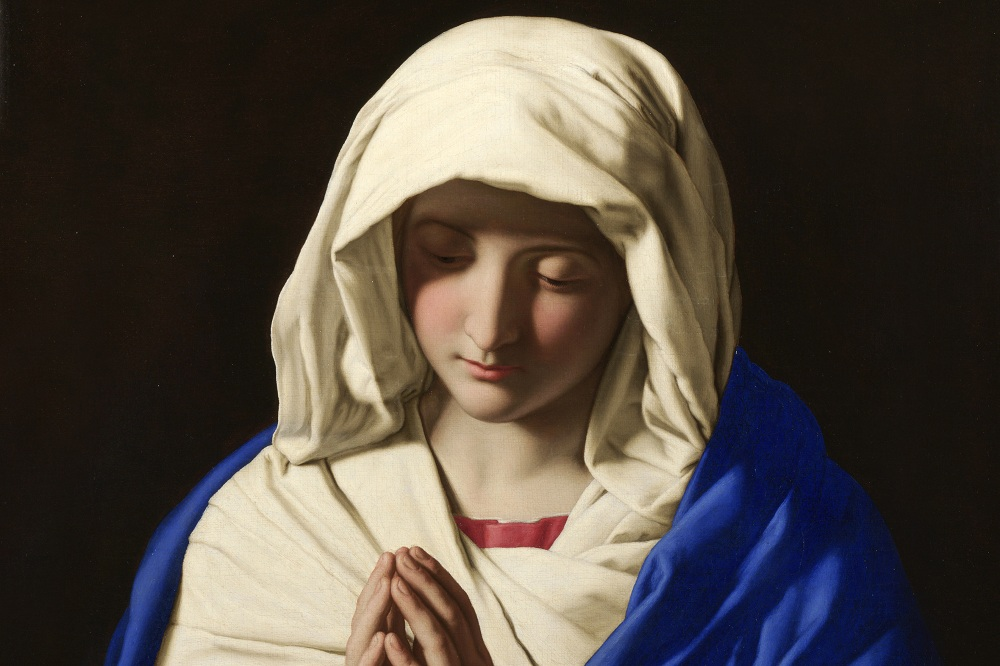 La figura de la Virgen María en los 4 evangelios