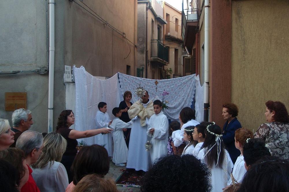 La solemnidad del Corpus Christi