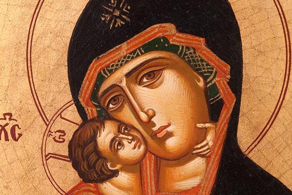 La antigua tradición de los iconos griegos pintados