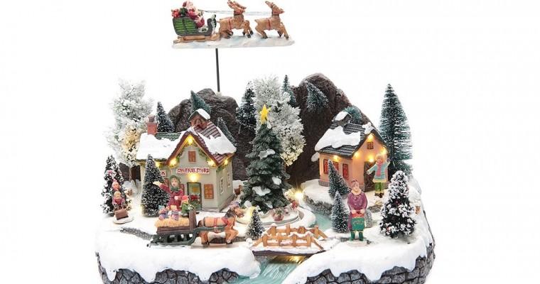 Los pueblos navideños en miniatura de Holyart