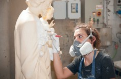 Estatuas artesanales en Mármol y Fibra de Vidrio