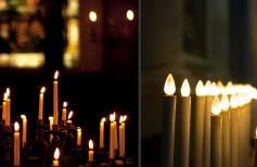 Velas eléctricas: cuando un culto pierde su sacralidad