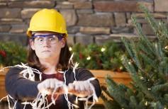 Decorar la casa para la Navidad en completa seguridad