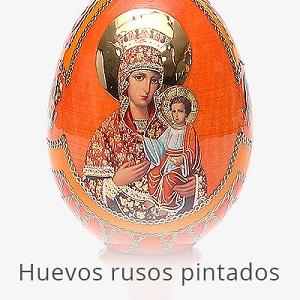 Huevos rusos pintados