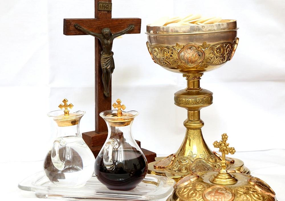 Accesorios litúrgicos utilizados