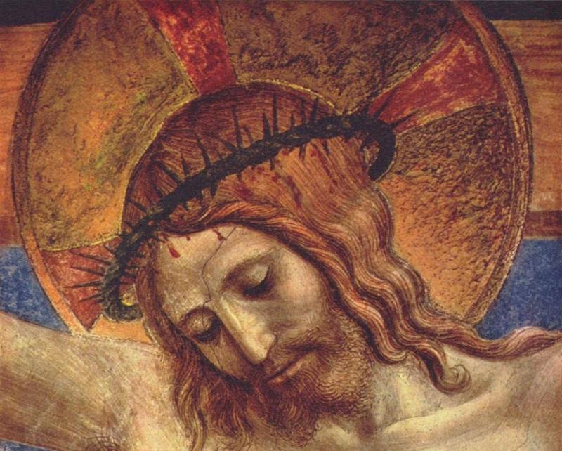 Cristo en la cruz - Obra de Fra Angelico - Museo de San Marcos