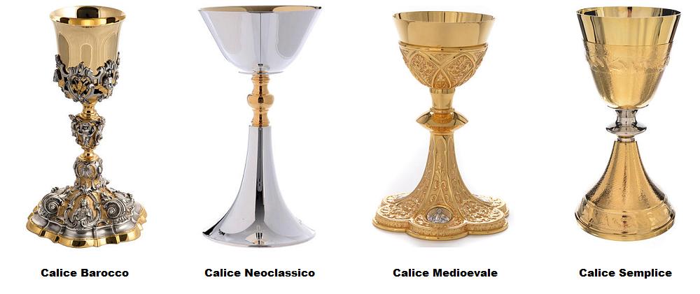 El estilo del cáliz sacerdotal